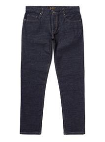 Dark Denim Tapered Jeans