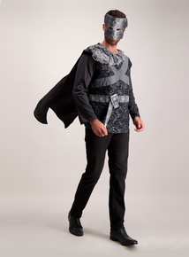 Black Adult Warrior King Halloween Outfit (XS- XL)