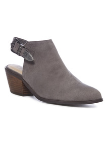 Sling Back Western Boots