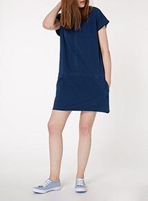 Blue Washed Denim Tunic