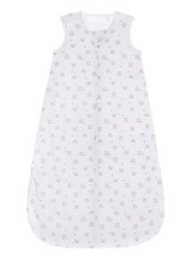 White Woven Sleeping Bag (0 - 24 months)