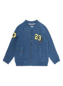 Boys Blue Badge Bomber (9 months-6 years)