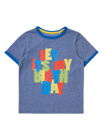 Boys Multicoloured Birthday Boy T-shirt (9 months-6 years)