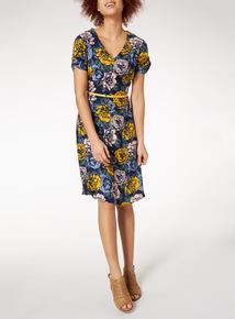 Multicoloured Floral Dress