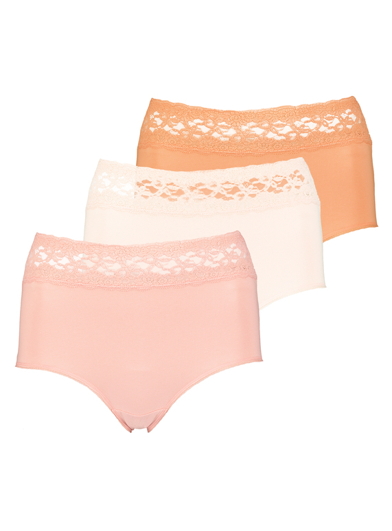 c0c644f790 Womens Multicoloured Comfort Lace Full Knickers 5 Pack
