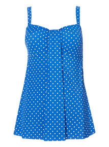 Online Exclusive Polka Dot Swimdress