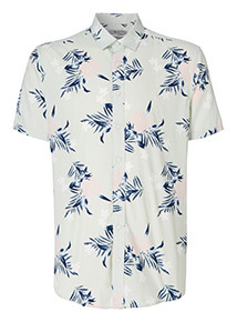 Floral Print Regular Fit Shirt