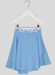 Blue Ballet Wrap Skirt (2-10 years)
