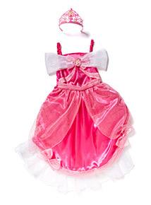 Pink Disney Cinderella Costume With Tiara (2-10 years)