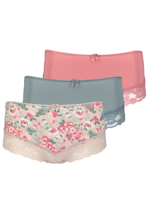 Multicoloured Midi Brief 3 Pack