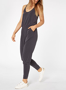 Navy Soft Touch Jumpsuit