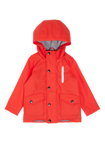 Boys Red Fisherman Jacket (9 Months- 6 Years)