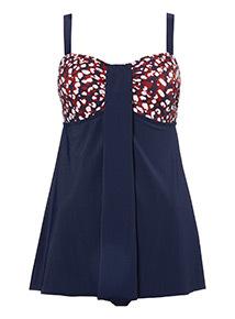 Dotted Swim Dress