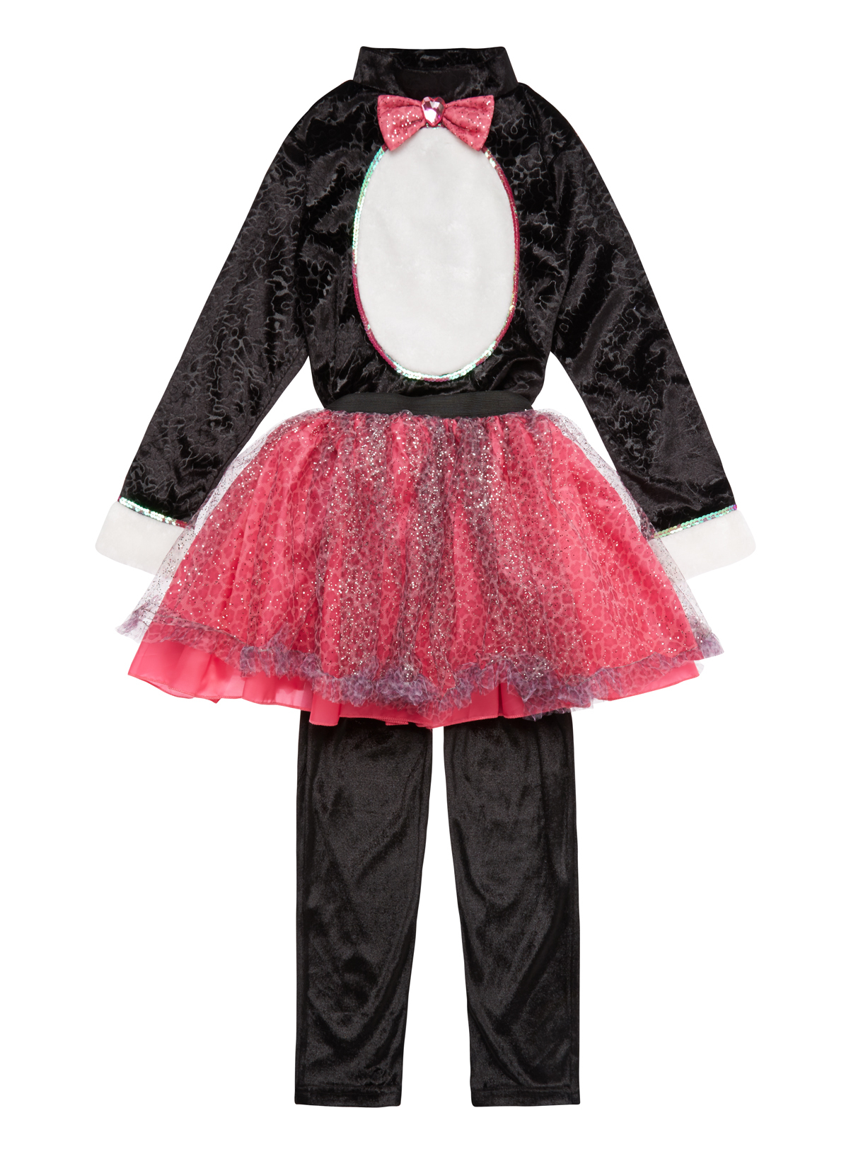 Halloween Kids Wicked Witches Cat Costume (3-12 years)   Tu clothing