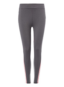 Multicoloured Panelled Legging