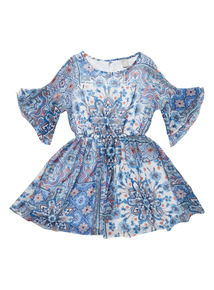 Blue Marrakesh Dress (3-12 years)