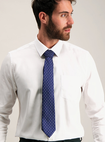 Blue Spotted Tie