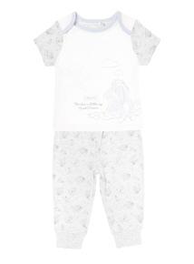 Grey Disney Eeyore PJ Set