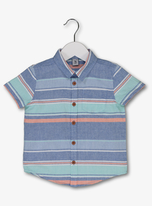 8a82b5201689f Multicoloured Short Sleeve Shirt (9 Months - 6 Years)