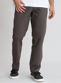 Brown Straight Leg Chino