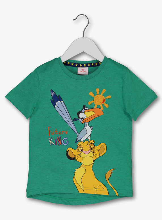 b5fb55e5 Baby Disney The Lion King Green T-Shirt (1 - 6 Years) | Tu clothing