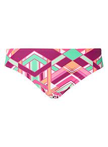 Geometric Print Bikini Briefs