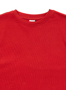 Red Crew Neck T-Shirt (3-12 years)