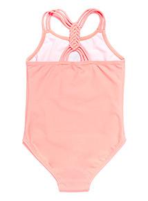 Pink Sequin Pineapple Swimming Costume (3-12 years)