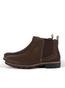 Sole Comfort Brown Leather Chelsea Boot
