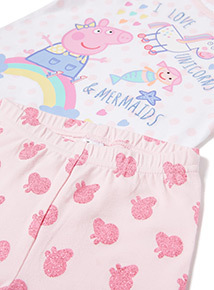 Multicoloured Peppa Pig Pyjamas (1-6 years)