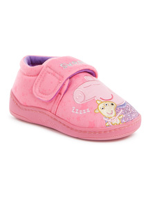 Pink Peppa Pig Slippers