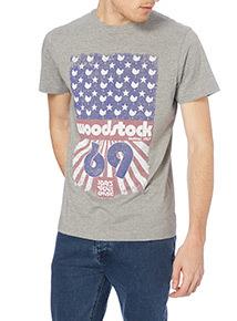 Online Exclusive Grey License Woodstock Tee