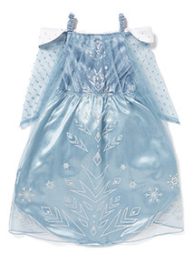 Blue Disney Elsa Frozen Costume (2-10 years)