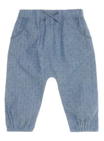 Denim Chambray Trousers (0 - 24 months)