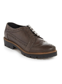 Premium Brown Leather Brogues