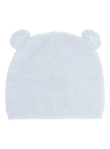 Boys Bear Ear Hat (0-24 months)