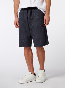 Online Exclusive Russell Athletic Navy Grindle Shorts