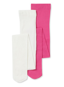 2 Pack Multicoloured Occasion Tights (2-12 years)