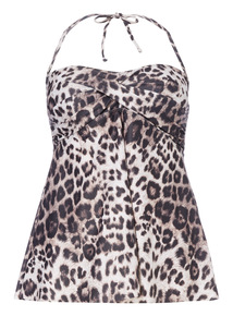 Online Exclusive Animal Print Tankini