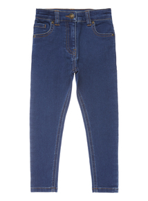 Girls Mid Wash Skinny Jeans (3-14 years)