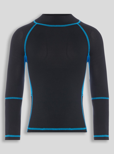 Black Active Sports Top (3-16 years)