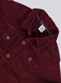 Burgundy Corduroy Shirt (9 months-6 years)