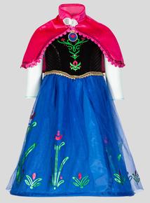 Multicoloured Disney Frozen Anna Fancy Dress Outfit (1-10 years)