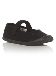 Mary Jane Plimsolls (5 Infant - 3)