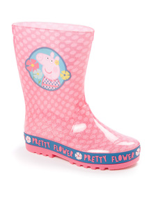 Pink Peppa Pig Wellies