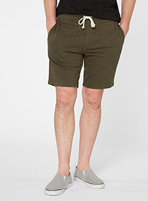 Khaki Basic Shorts