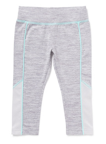 Grey Dance Cropped Leggings (3-14 years)