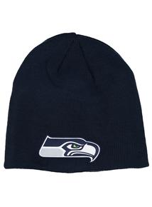 NFL Navy Seattle Seahawks Beanie Hat