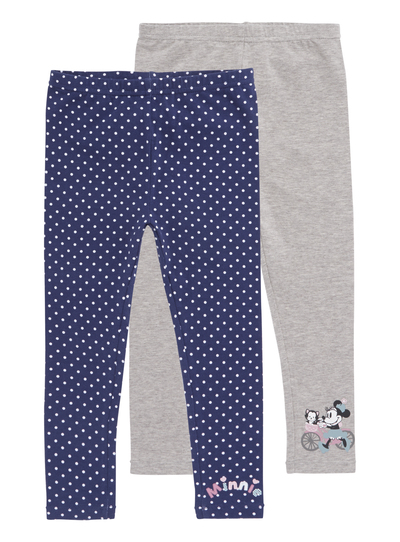 Kids Girls Purple Leggings 2 Pack (9 months - 5 years)  cc9f0ae97
