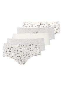 5 Pack Winter Wonderland Shorts
